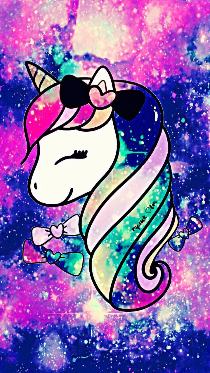Unicorn Cutie Galaxy Wallpaper androidwallpaper