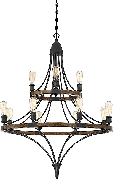 Turing 12 Light Chandelier In Whiskey Wood Lighting Lights Chandelier Light Chandelier
