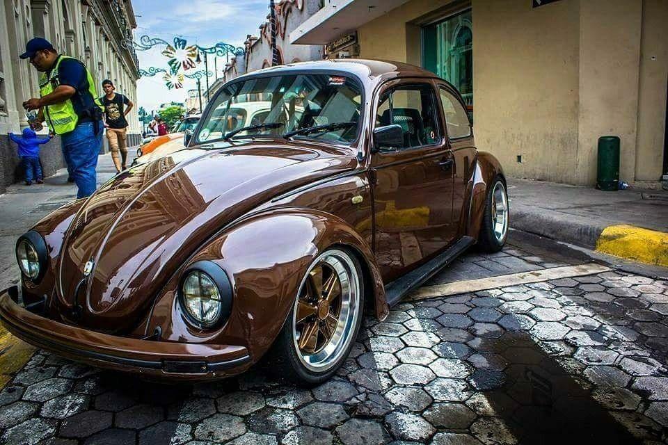 Fusca marrom VolkswagenClassicCars imagens
