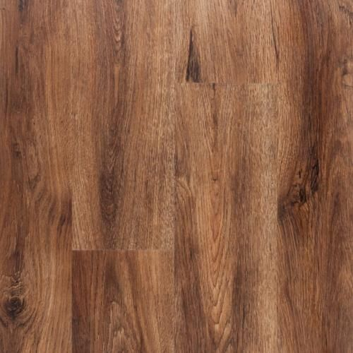 NuCore Gunstock Oak Plank with Cork Back - 6.5mm - 100109859 | Floor and Decor