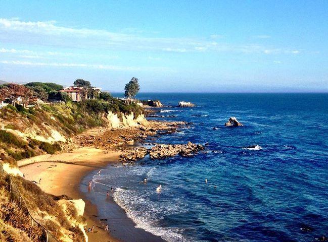 Little Corona Beach Del Mar California Luciana Mosconi