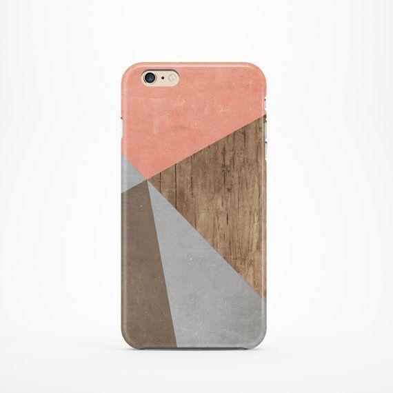Color Block iphone case Geometric iphone 4s case Wood iphone 6 ...