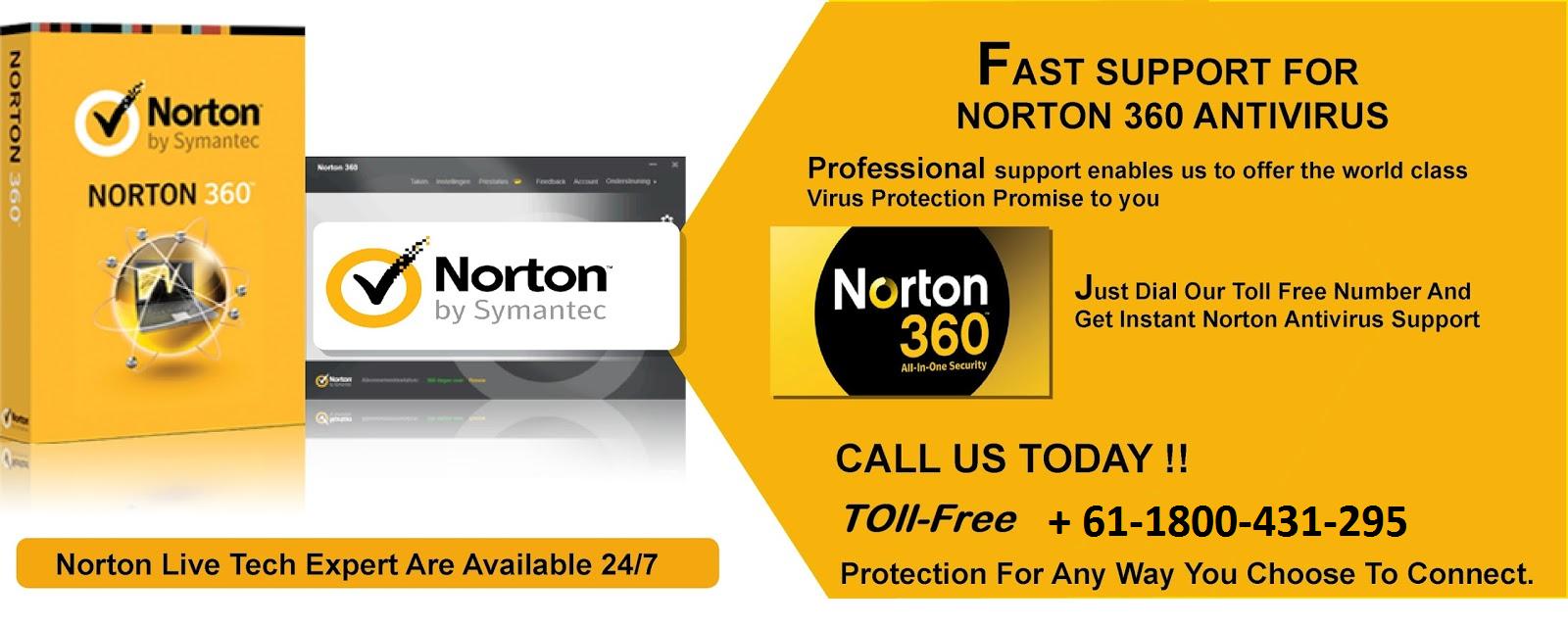 Norton support are providing online service in Australia  If