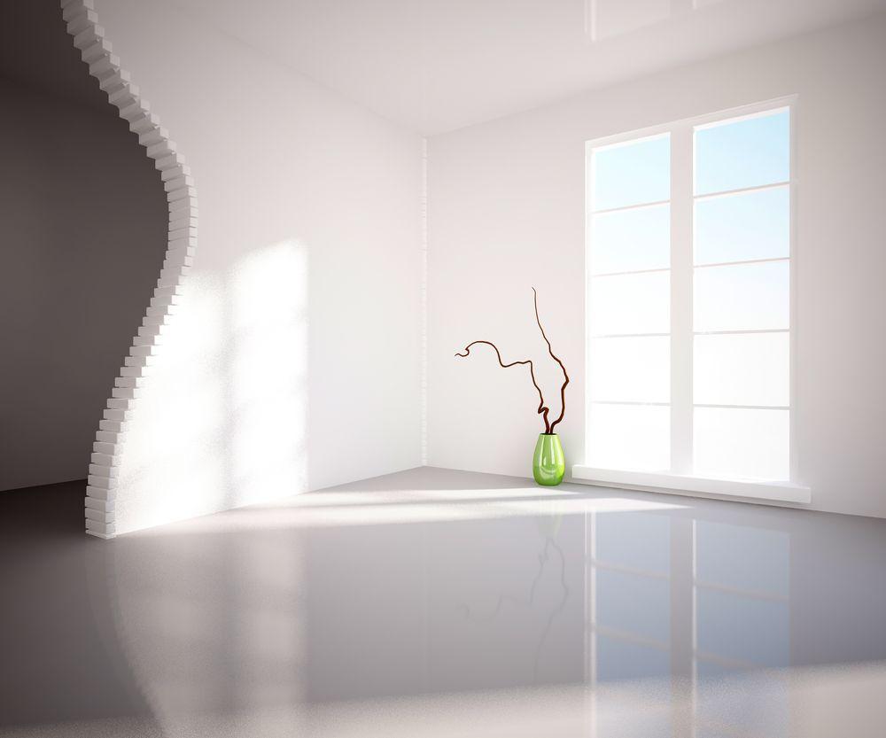 Een betonverf creëert een slijtvast en naadloos oppervlak voor ...