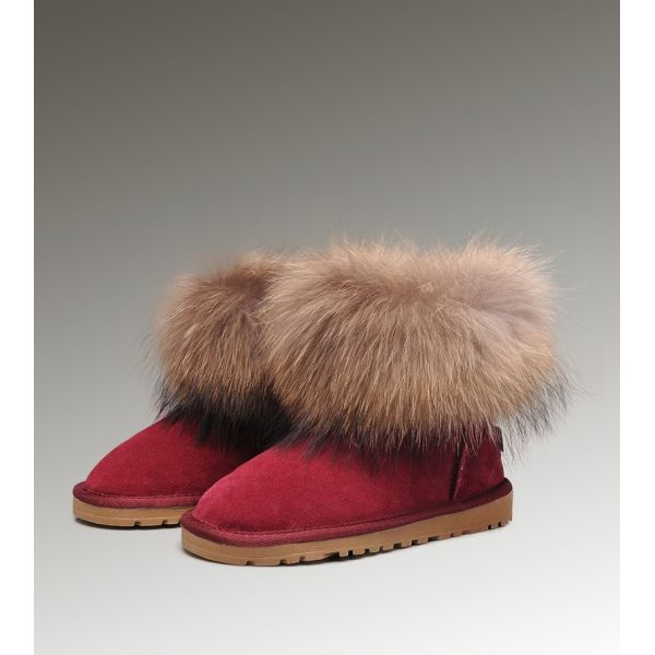 fbed7192a73 Discount Ugg Fox Fur Mini 5854 Boots on UK for Womens At Zonedout.us ...