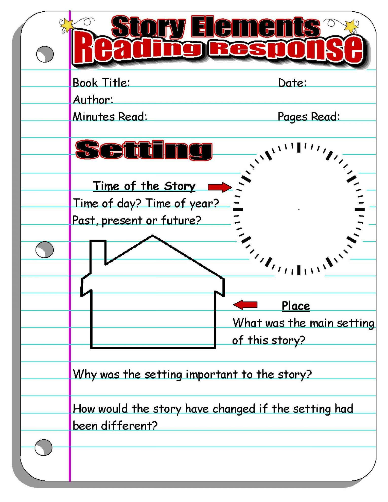 11 Setting A Purpose For Reading Worksheet