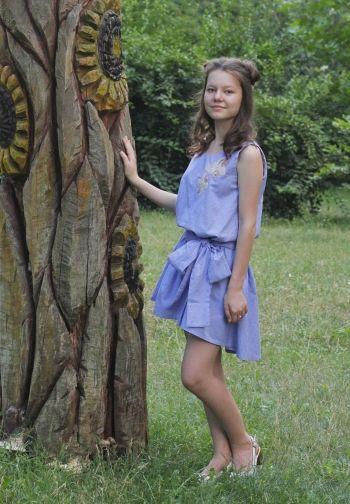 Літня сукня для сестрички | BurdaStyle.ua: Мода, Дизайн, Рукоділля, Викрійки