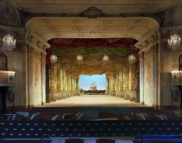 drottningholm palace theatre interior original production