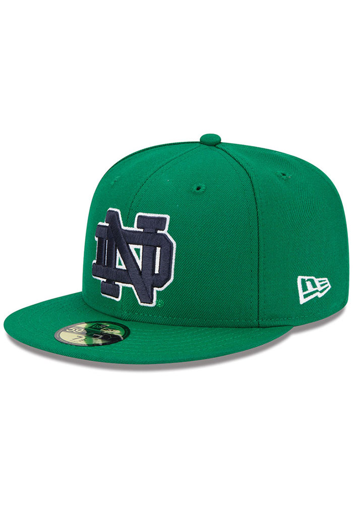cheap for discount 84ca9 4461e New Era Notre Dame Fighting Irish Mens Kelly Green College 59FIFTY Fitted  Hat, Kelly Green