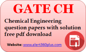Gate Ch Question Papers With Solution 2018 With Images Question Paper This Or That Questions