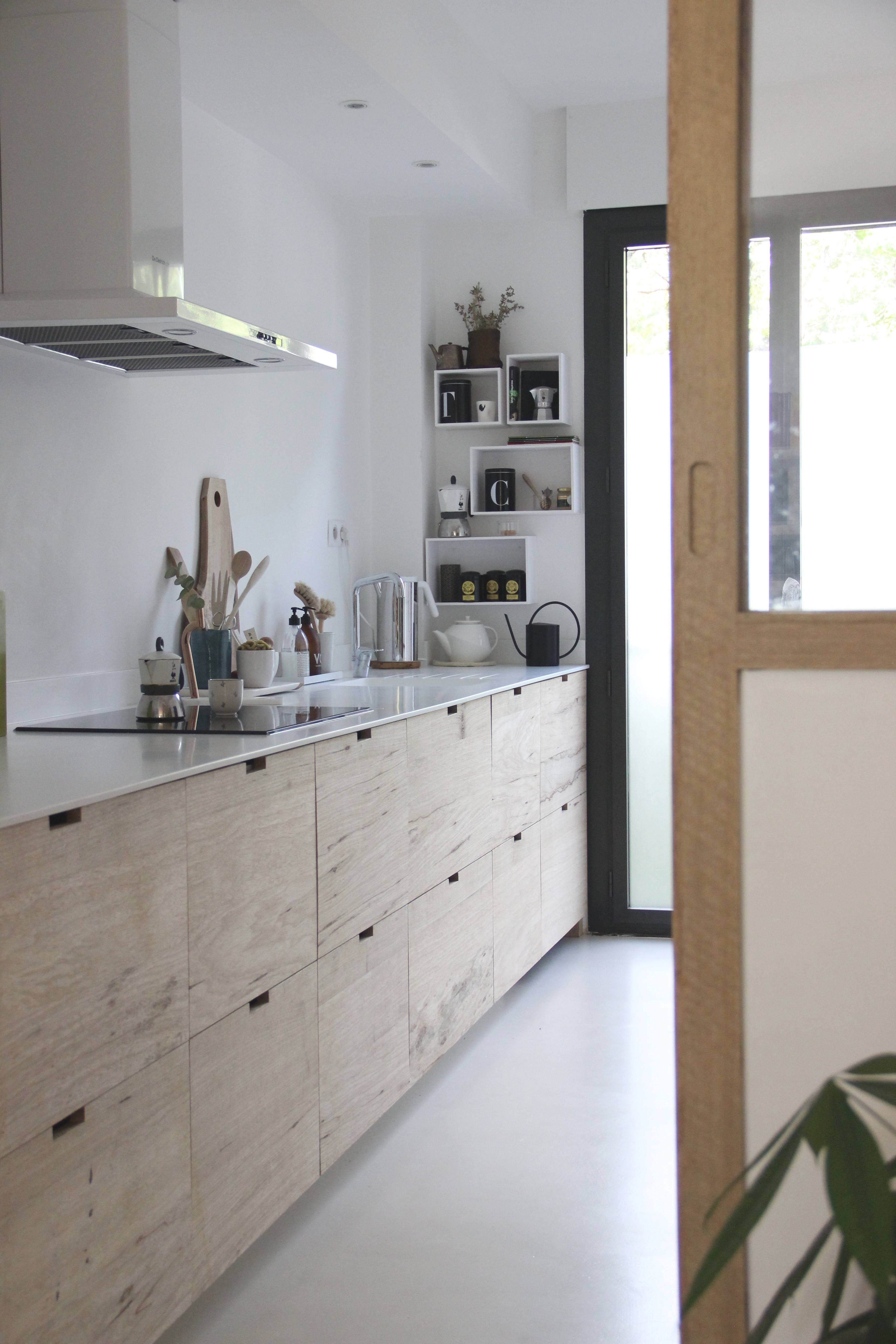 Before & After A Designer's Ikea Hack Kitchen in Provence