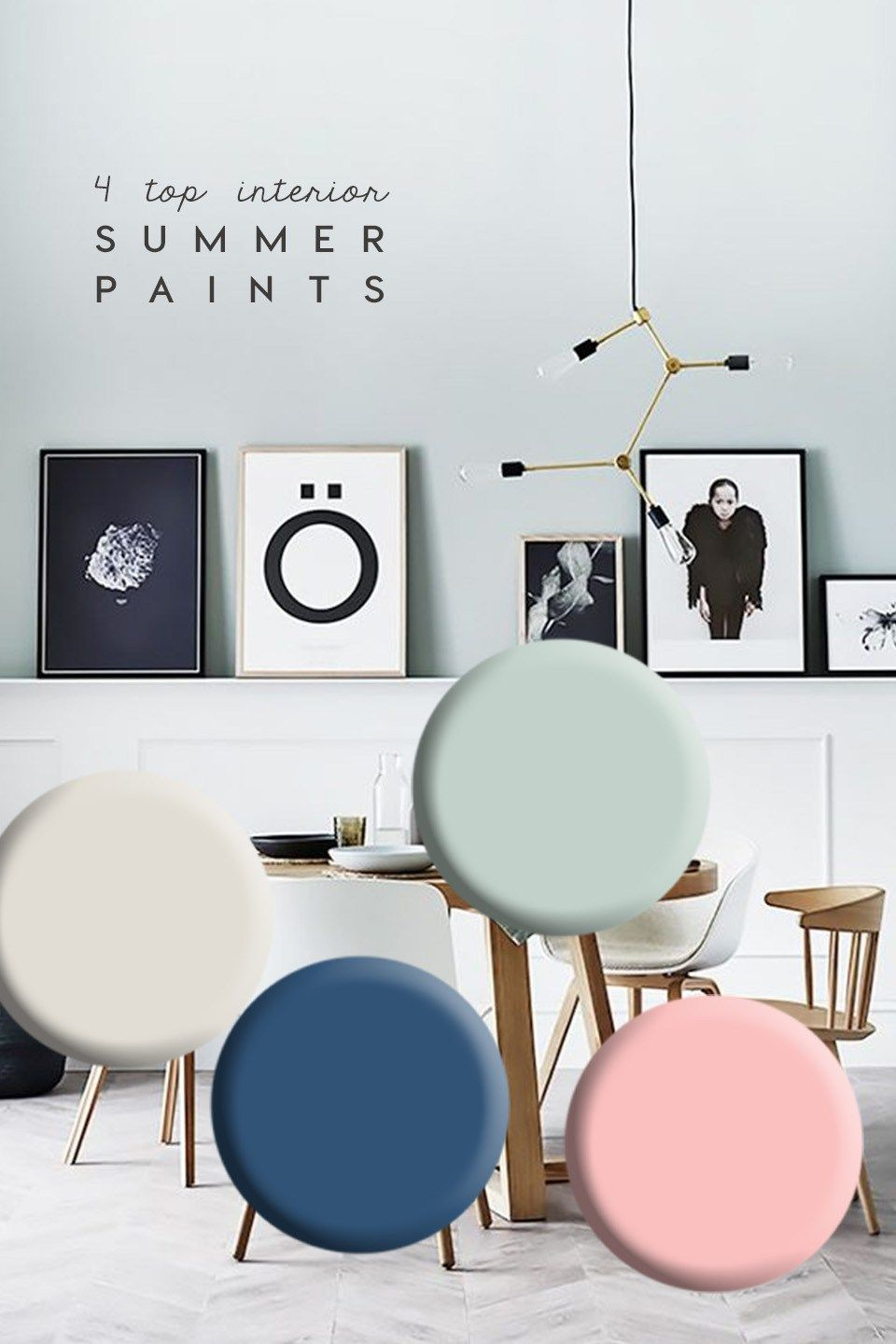 4 Top paint trends to refresh home this Summer   Dream studio, Salon ...