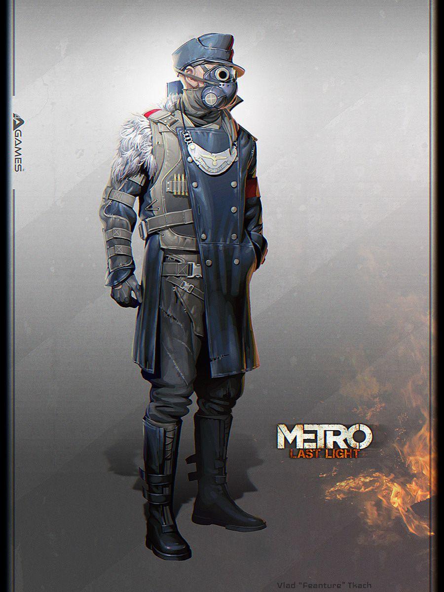 Metro: Last Light Concept Art by Vlad Tkach | Concept art, Lights ...