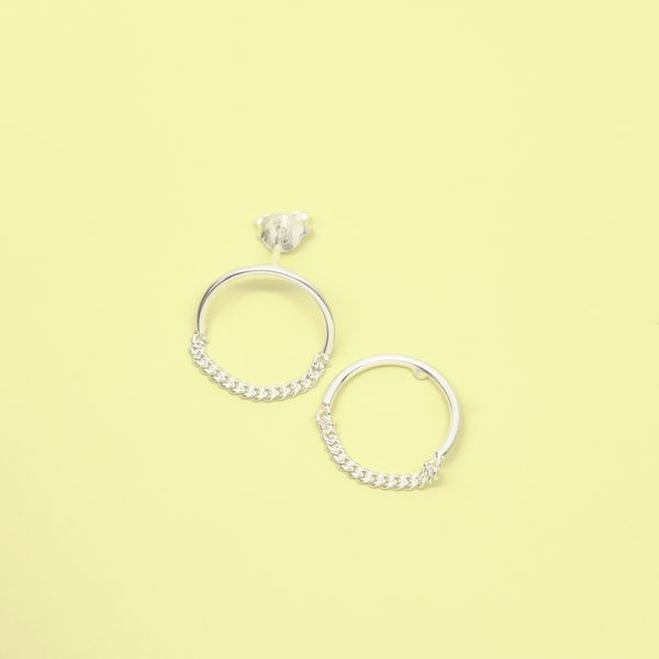Photo of fejn jewelry Ohrstecker 'Circle Chain'