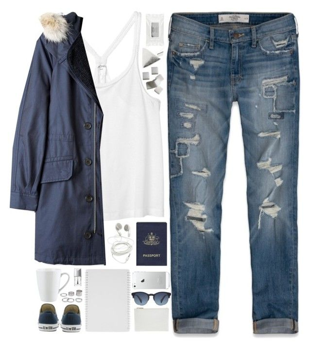 """""""Daisy"""" by daisy-blooms ❤ liked on Polyvore featuring Mode, Abercrombie & Fitch, Passport, Oliver Peoples, Monki, Converse, Marc by Marc Jacobs, Christian Dior, Pillivuyt und Whistles"""