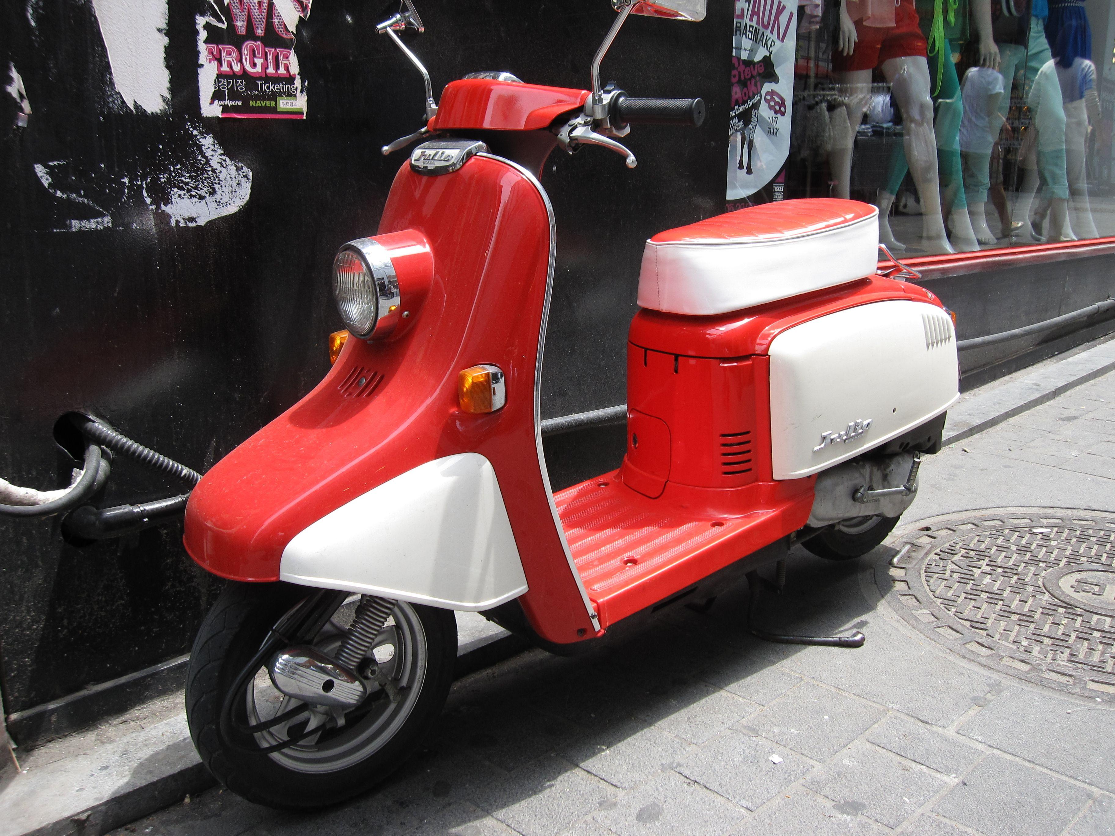 Beautiful 1998 Honda Julio scooter 50cc