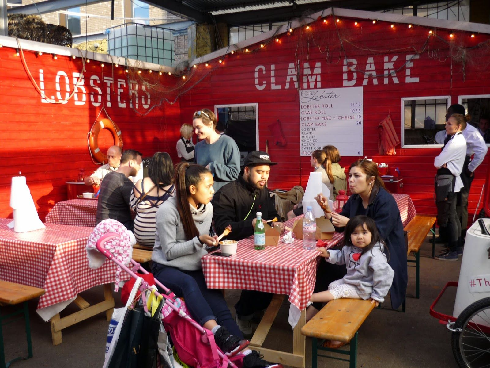 Street Feast London Food Outside Venue Review Clam