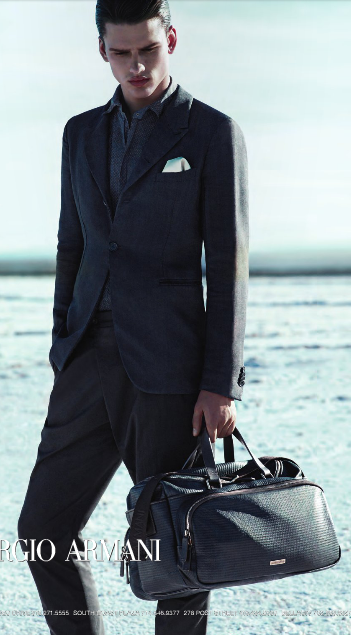 Giorgio Armani menswear, spring 2014