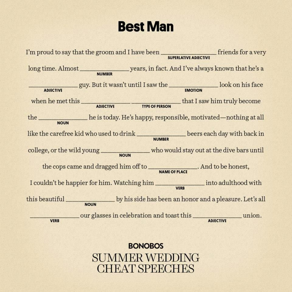 Writing A Best Man Speech For Brother Funnyweddingspeeches Best Man Speech Wedding Speech Best Man Wedding Speeches Best man speech template brother