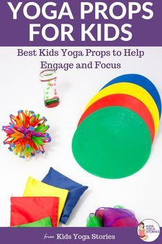yoga prop ideas for kids and stuff you probably have at