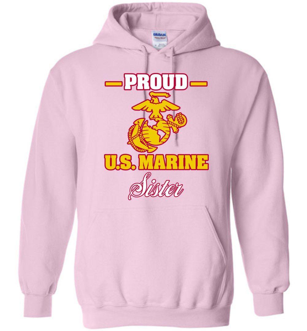 0f565bc0 Proud U.S. Marine Sister Gildan Heavy Blend Hoodie | needs/wants ...