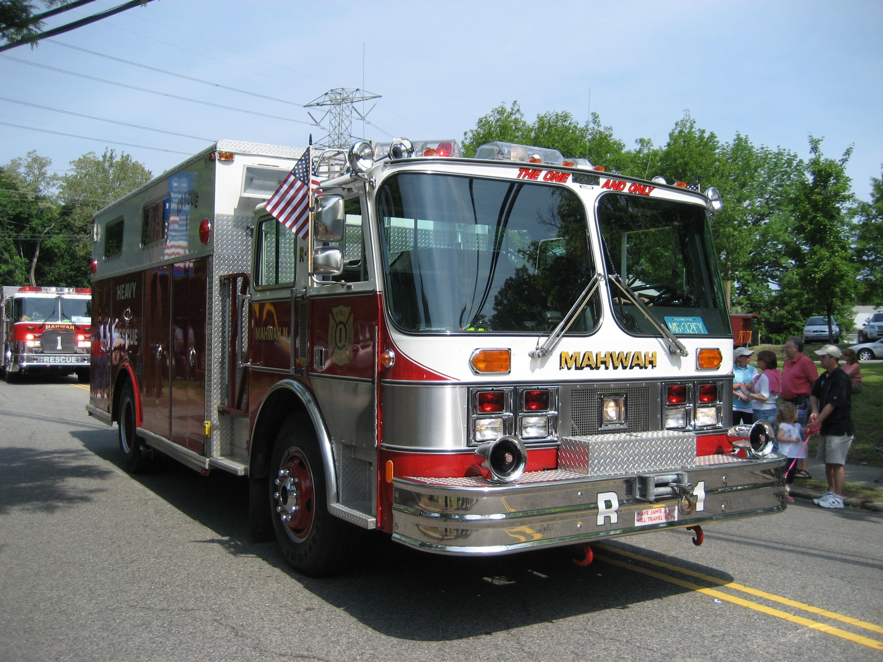 Technical Rescue 1 Rescue, Fire rescue, Mahwah