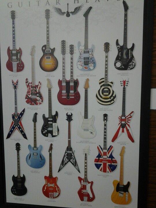 Melhores Guitarras Do Mundo Mosaicos Decoración De Unas Cuadros