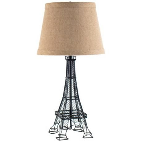 Andre Eiffel Tower Table Lamp 2k081 Lamps Plus Lamp Tiffany Style Table Lamps Table Lamps For Bedroom