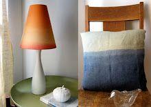 DIY #Ombre Pillow
