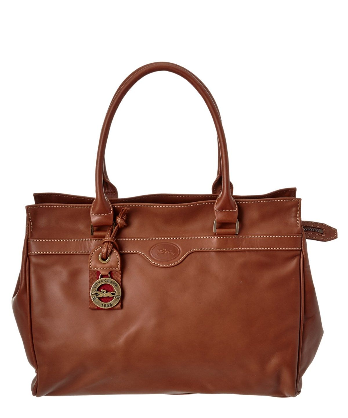 335c5fa13190 LONGCHAMP Longchamp Leather Satchel .  longchamp  bags  leather  hand bags   satchel  lining