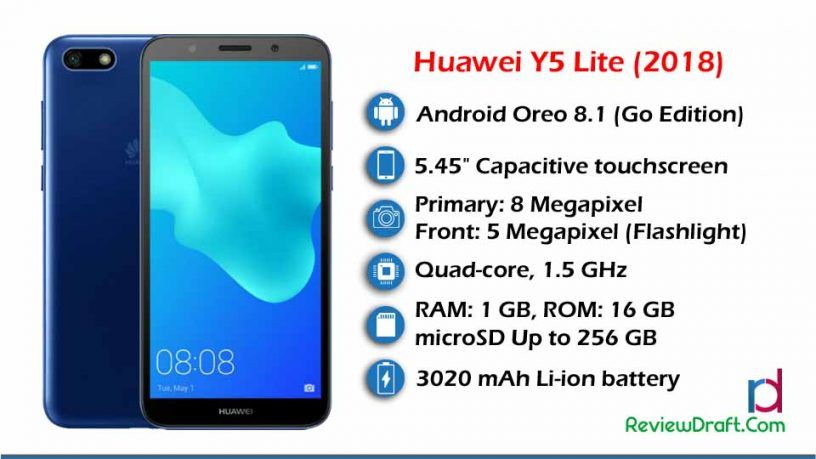 Huawei Y5 Lite (2018) Price in Bangladesh, Specification | Cell ...