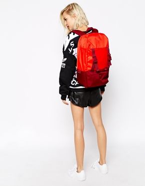 192a1bbf94 Enlarge Adidas originals Backpack in Red Colour Block