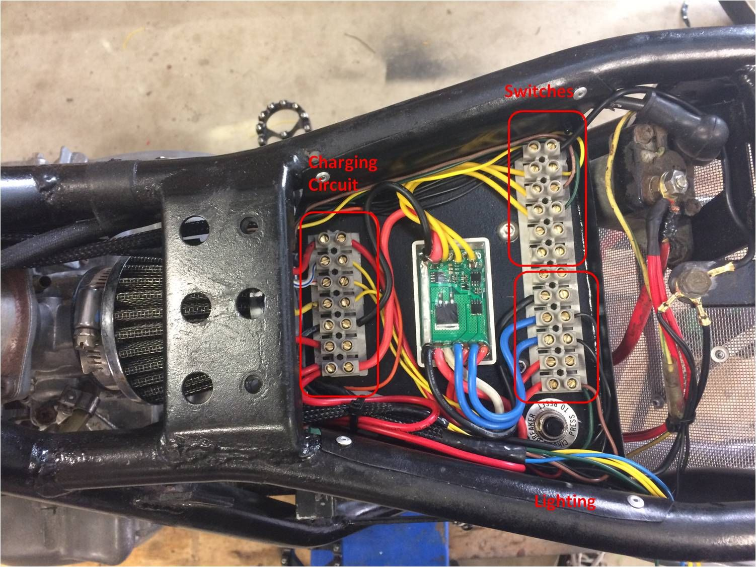 Motorcycle Electrics 101 - Re- wiring your Cafe Racer ... on