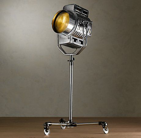 1940s hollywood studio floor lamp from restoration hardware 1940s hollywood studio floor lamp from restoration hardware aloadofball Images