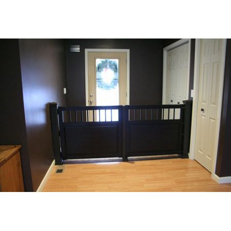More fabulous pet ikea hacks baby gates and hemnes for Wooden stair gate ikea
