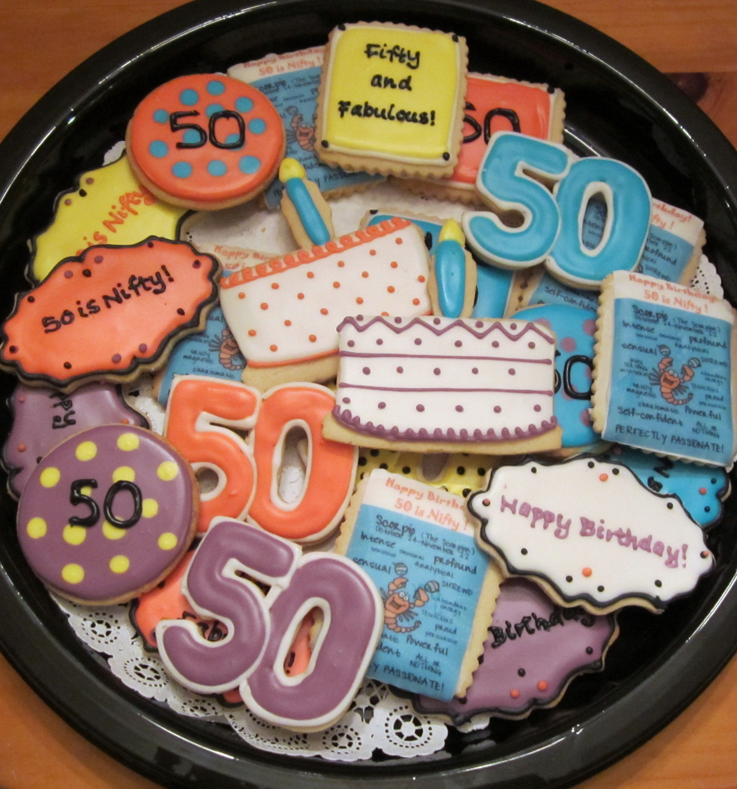 50th birthday cookies get creative golf cookies 50 cookies anchors pitsburg etc - Geburtstagsideen 50 ...