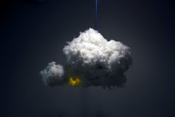 Lightning Storm Lamps Cloud By Richard Clarkson Is A Personal
