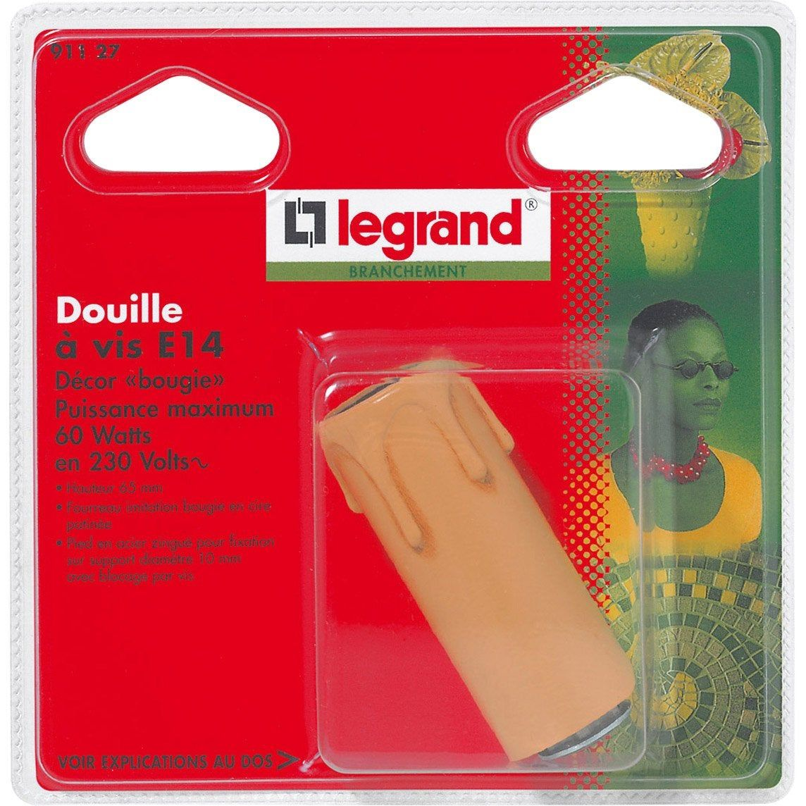 Douille E14 A Vis Plastique Beige Legrand En 2020 Douille Douille E14 Et Legrand