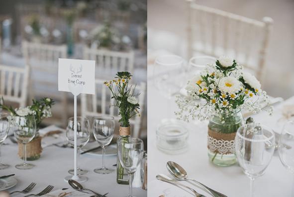 Centros de mesa navidad con frascos buscar con google centros de mesa pinterest mesas - Mesas decoradas para bodas ...