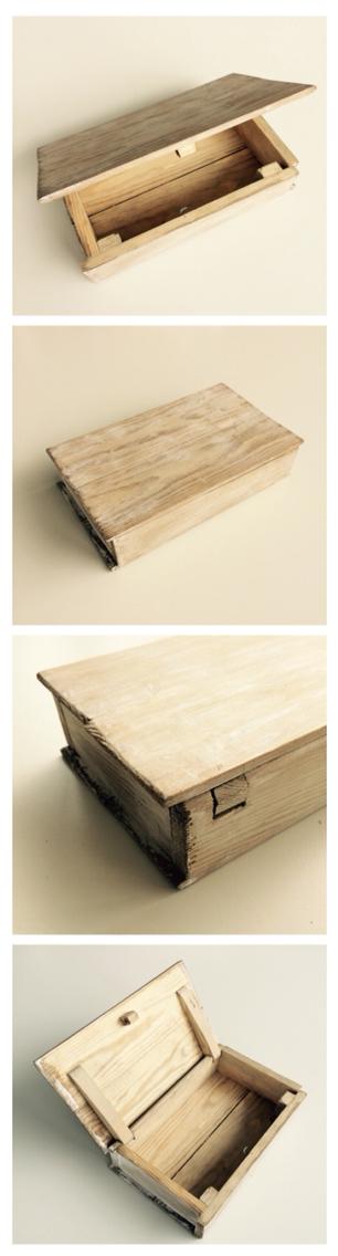 Holzschatulle Mit Geheimverschluss Im Shabby Chic Style Holzschatulle Holzkisten Schatulle