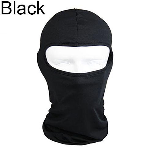 Lycra Ultra-Thin Motorcycle Cycling Full Face Mask Neck Protecting Balaclava
