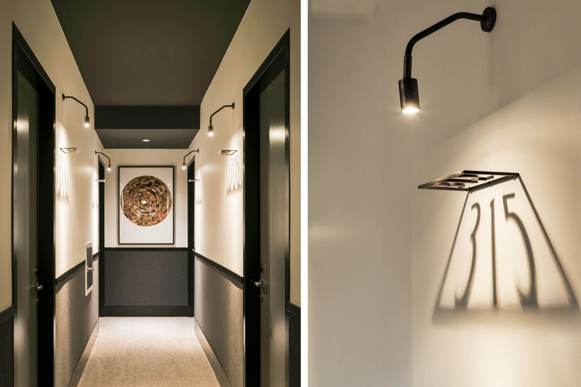 hotel hallway lighting. Ovolo 1888 Darling Harbour Boutique Design Hotel In Pyrmont, Sydney Hallway Lighting S