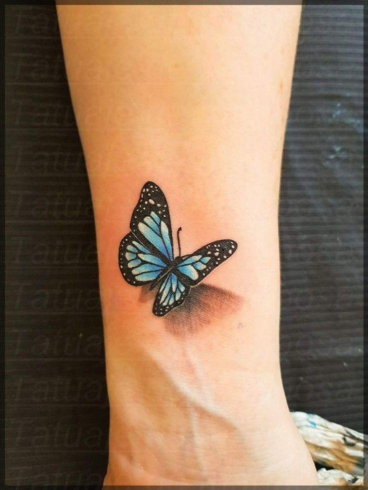 Hermosas Ideas De Tobillo Tatuaje Muneca Manos Mariposa Tatuaje Tatuaje De Mariposa En La Muneca Tatuaje Mariposa 3d