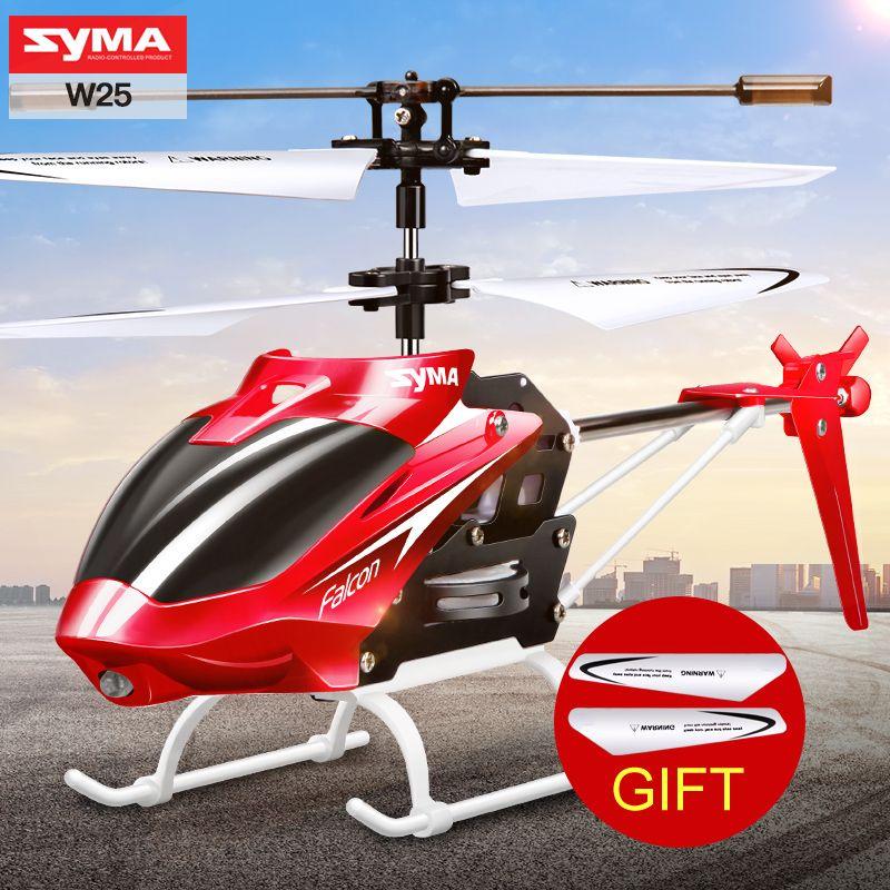 SYMA W25 2 Canaux Intérieur Mini RC Hélicoptère avec Gyroscope par ...