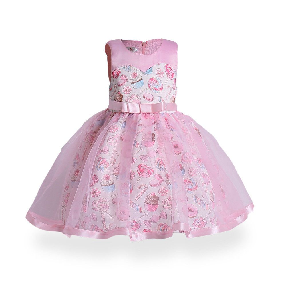 Cool amazing dresses flower girls princess for kids party pageant