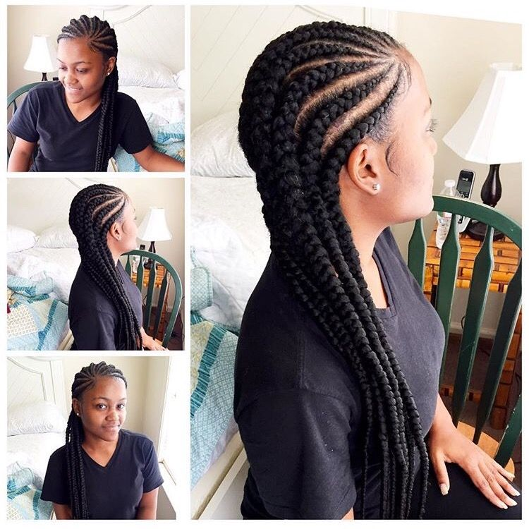 Cornrows For Black Women African American Braided Hairstyles Natural Hair Styles African Braids Hairstyles