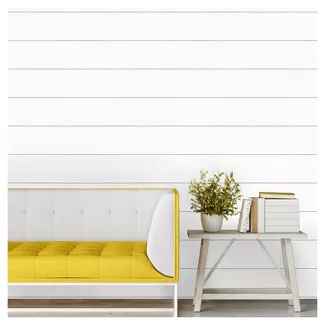 Subway Tile Peel & Stick Wallpaper White Threshold