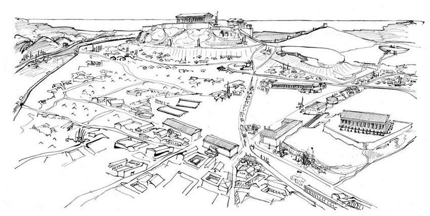 Athenian Agora Archaic Through Hellenistic Greek 600 Bce 150 Ce
