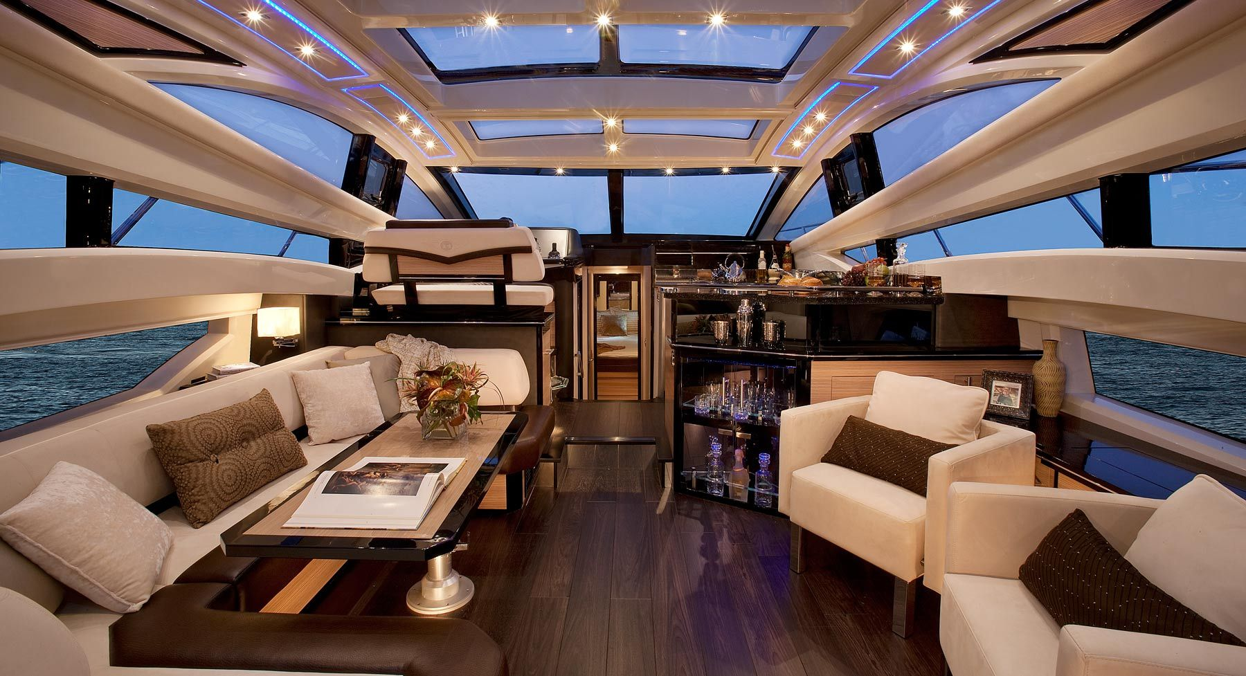 Marquis 500sc The Most Gorgeous Yacht Interior Around Yacht