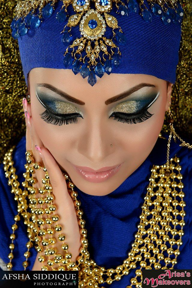 I love the colors! Make up by Arisas Makeovers Model